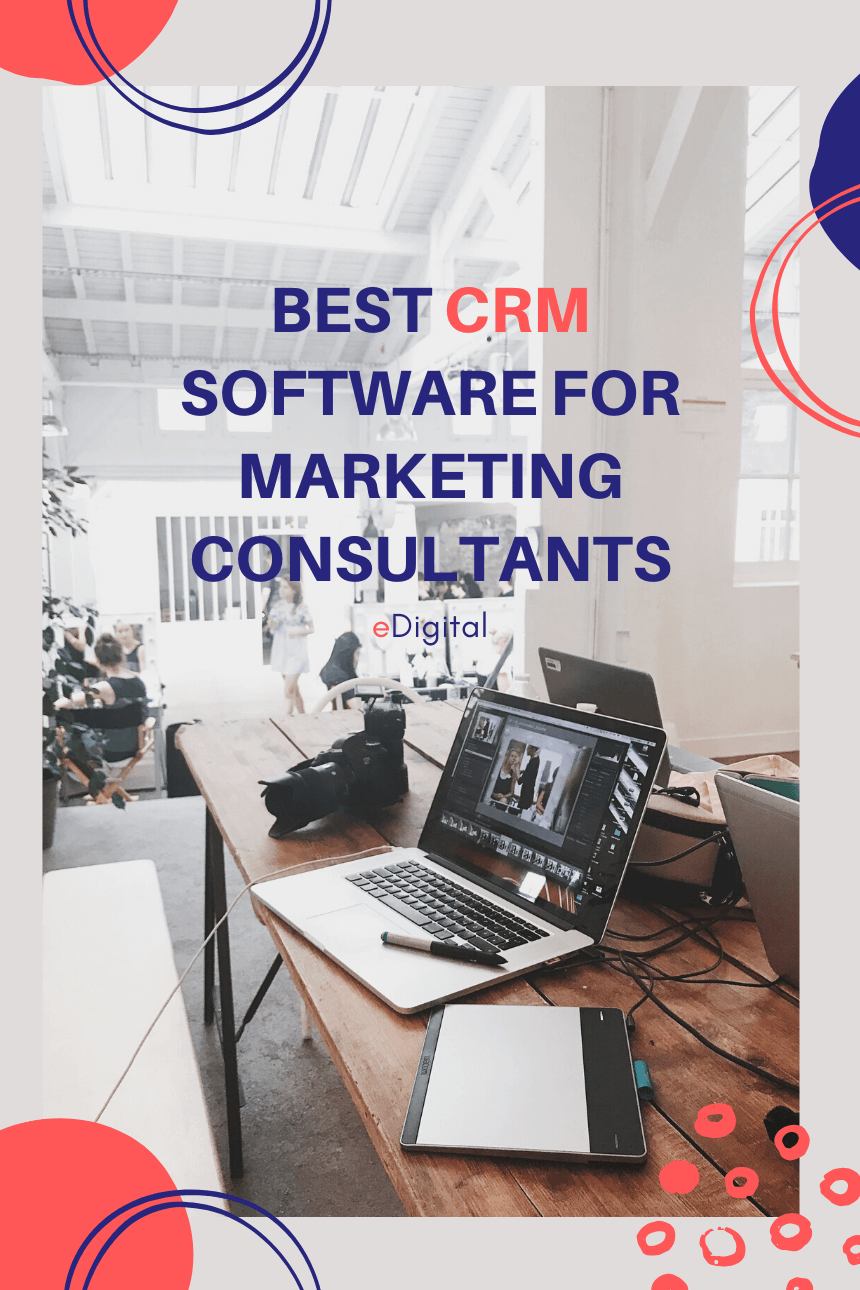 Best CRM software for marketing consultants