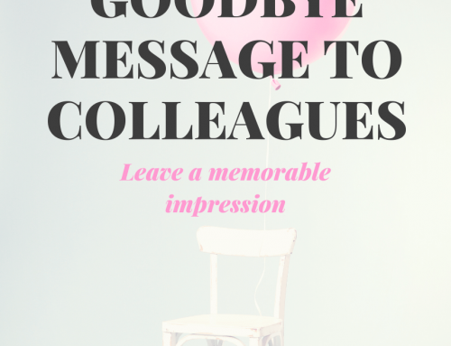 THE BEST GOODBYE EMAIL MESSAGE TO COLLEAGUES SAMPLES