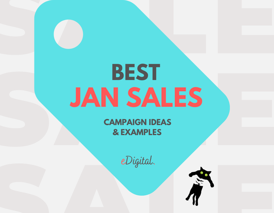 Best January sale marketing campaign ideas examples