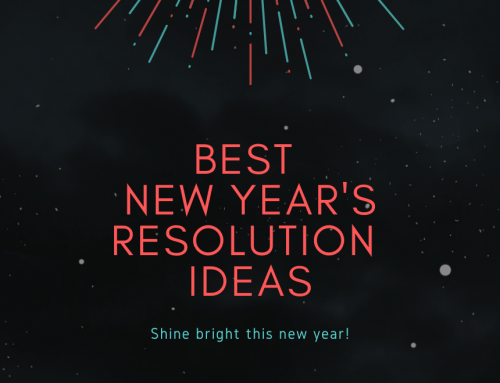 THE BEST NEW YEAR'S RESOLUTION IDEAS FOR 2021 – LIST