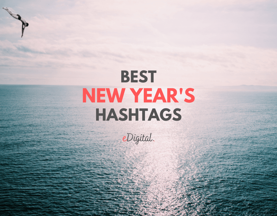 Best New Years hashtags