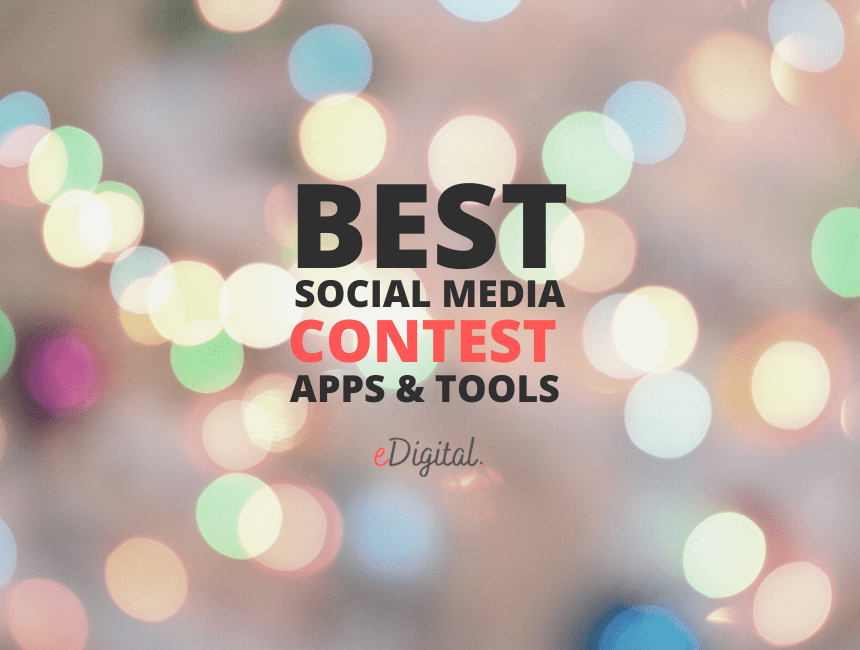 Best Social Media contest apps tools competitions software