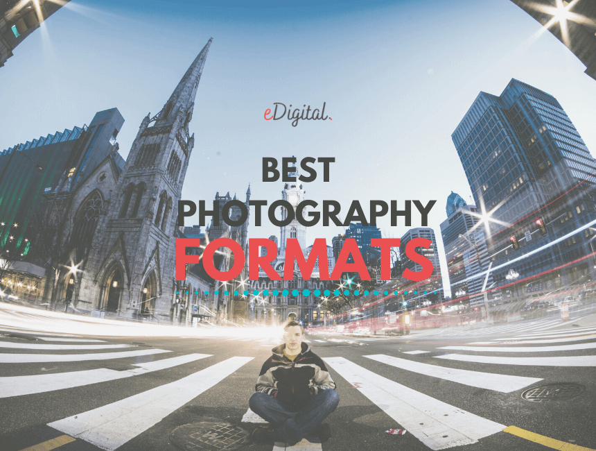Best photography formats