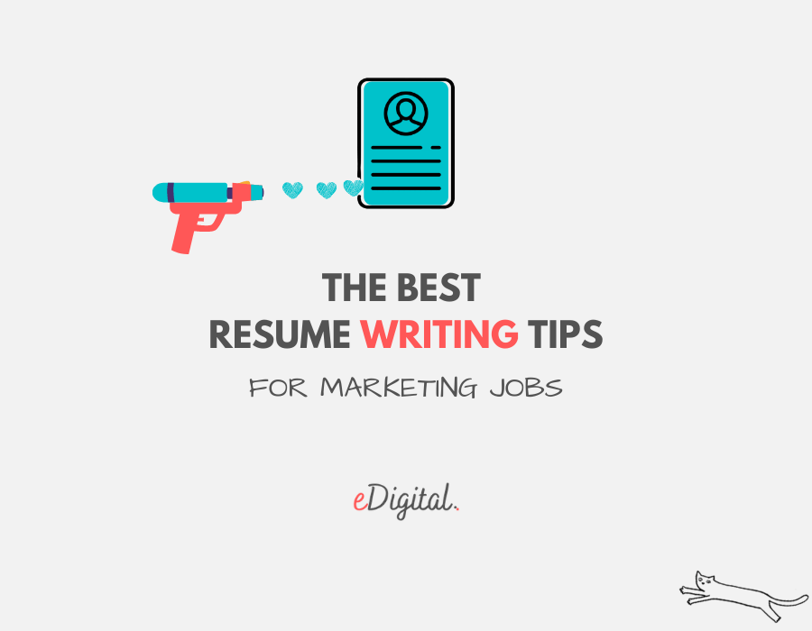 Best resume writing tips for marketing jobs