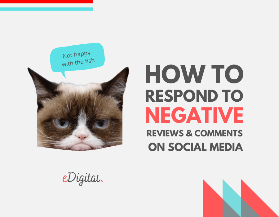 Best tips how respond negative reviews bad comments social media