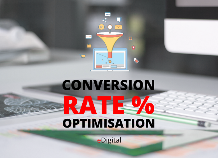 Conversion rate optimisation services