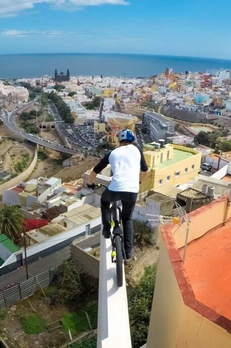 GoPro viral video MacAskill bmx riding Gran Canaria pov
