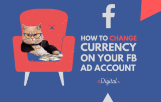 How change currency Facebook advertising account steps