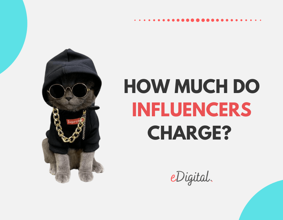 How much do influencers charge?
