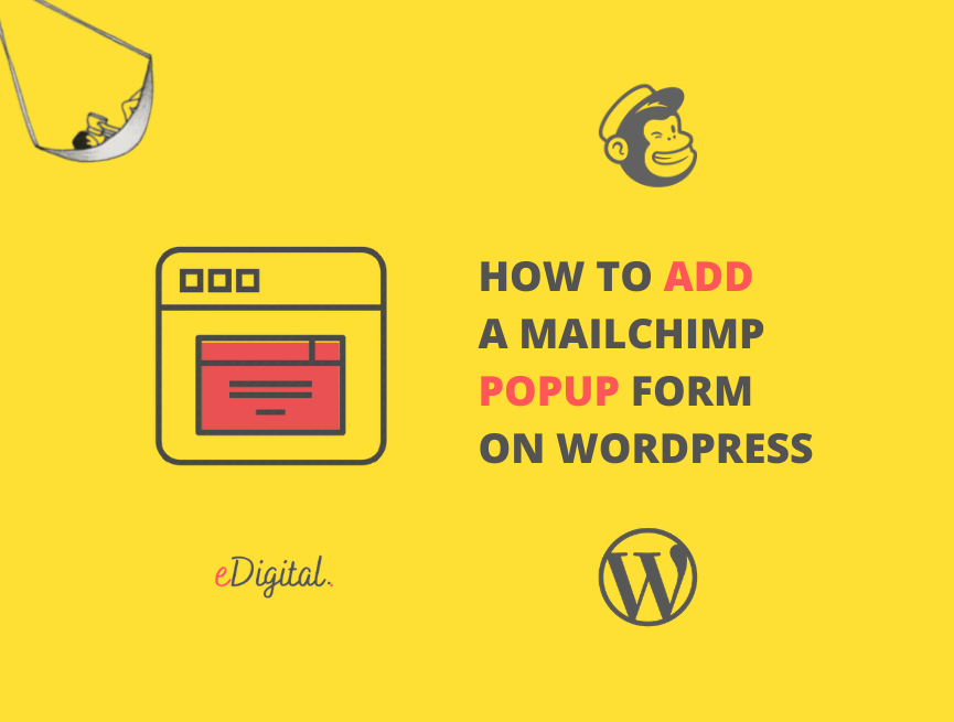How to add a Mailchimp popup form on a WordPress website
