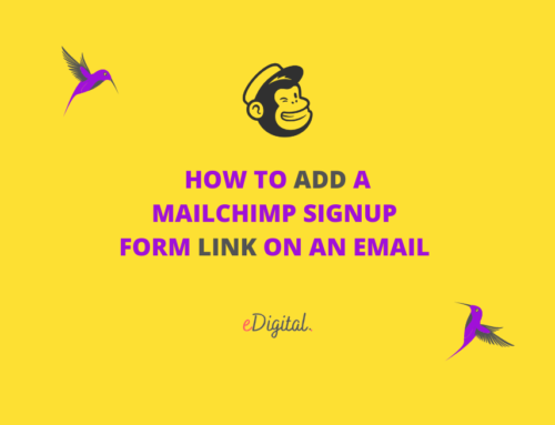 HOW TO ADD A MAILCHIMP SUBSCRIBE LINK ON AN EMAIL