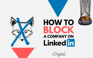How to block company Linkedin