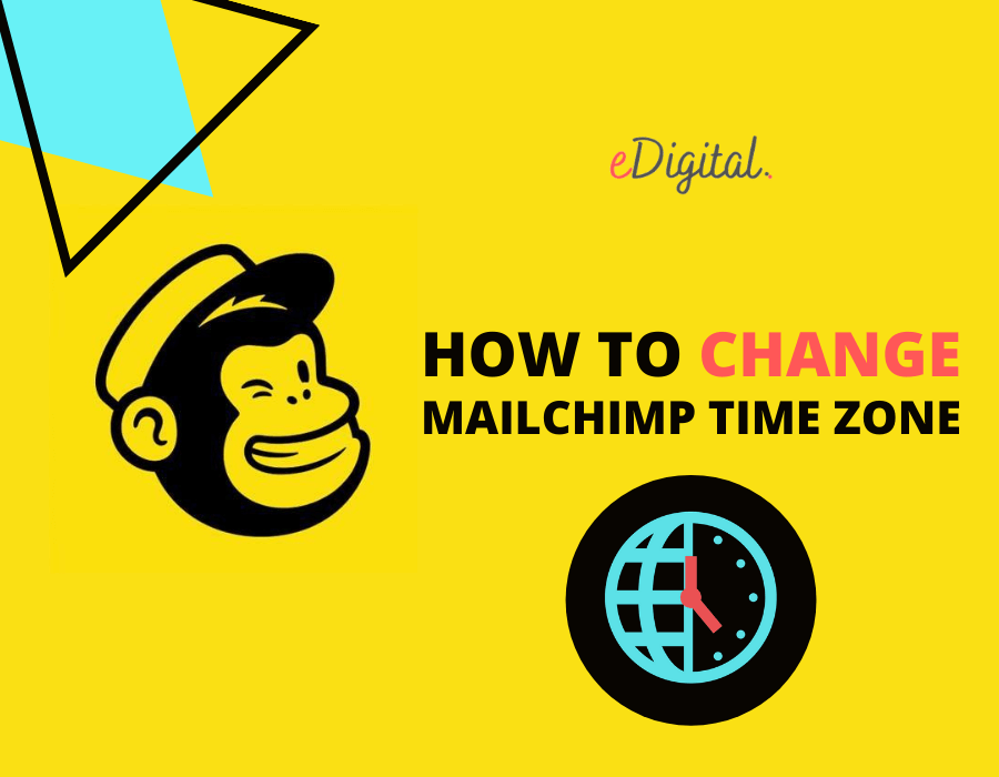 How to change time zone on Mailchimp account