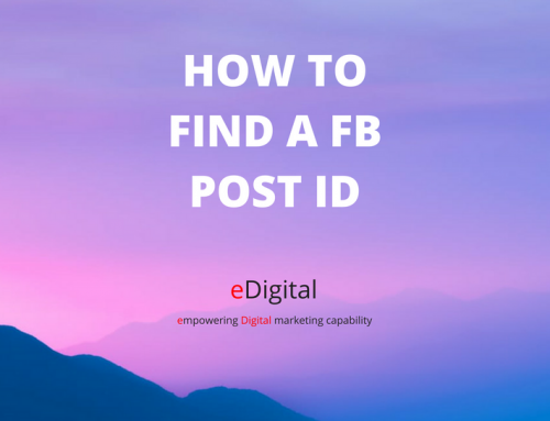 HOW TO FIND A FACEBOOK POST ID IN 2019