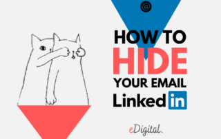 How to hide email Linkedin steps