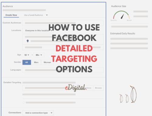 HOW TO USE FACEBOOK DETAILED TARGETING OPTIONS