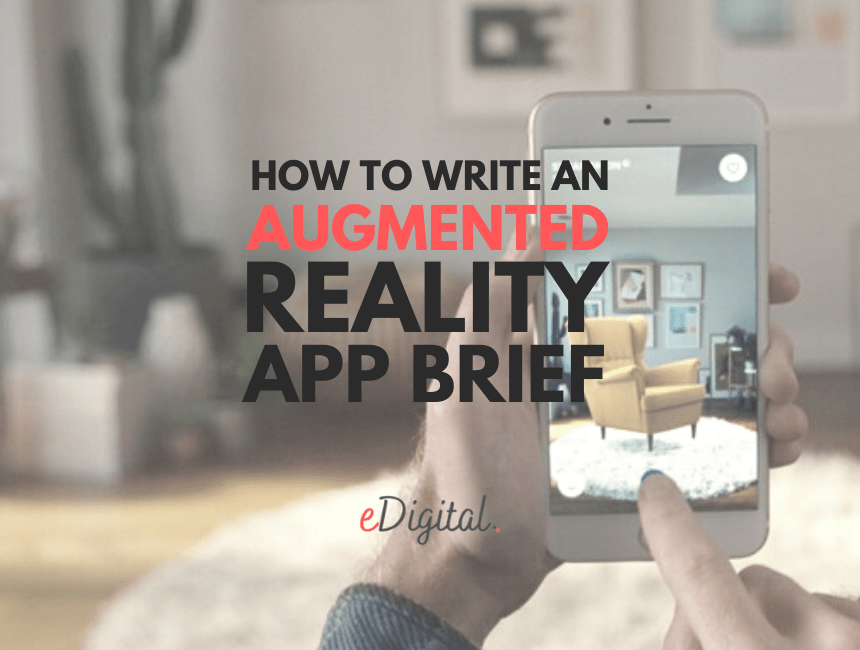 How to write an augmented reality app brief template