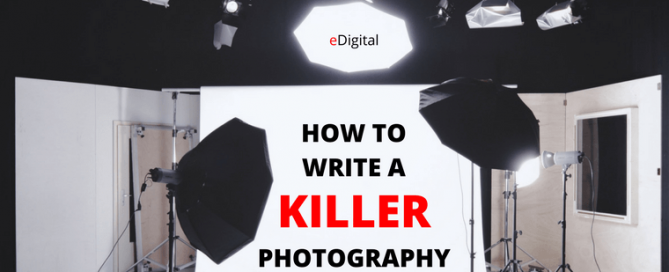 How to write creative photography brief template photo shoot