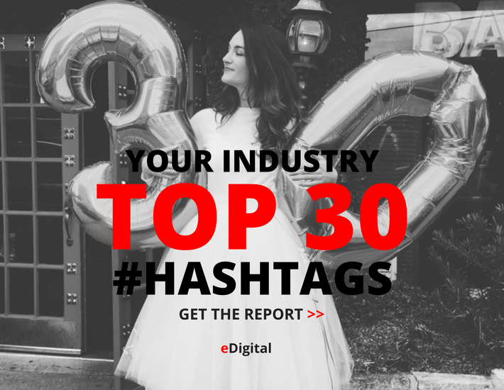 Industry top 30 instagram hashtags report