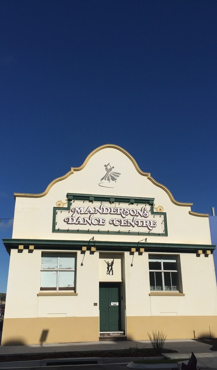 Manderson's Dance Centre building colonial architecture Rockhampton Queensland