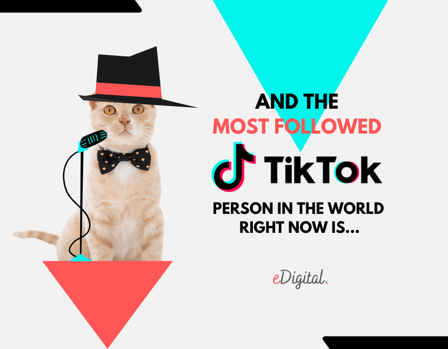 Most followed TikTok person in the world