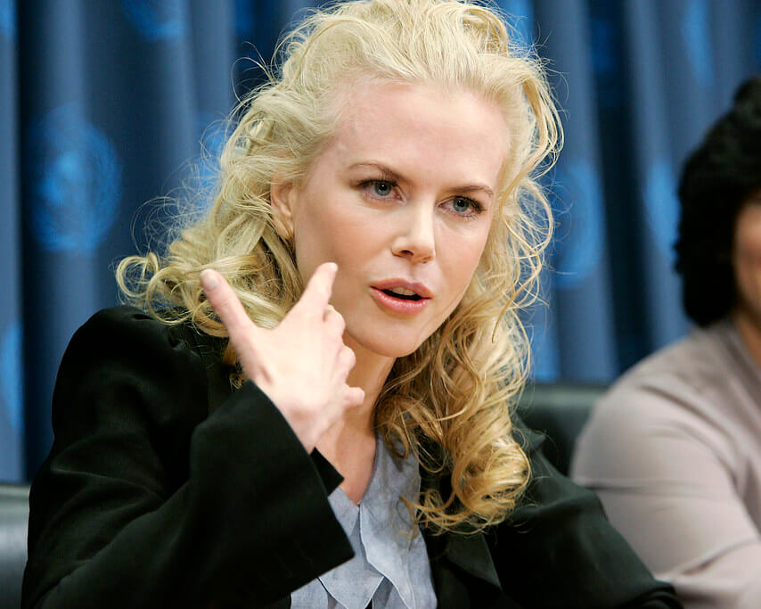 Nicole Kidman Australian popular actress