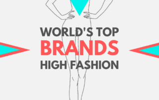 World top luxury high fashion brands haute couture
