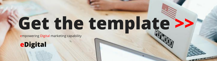 Write business plan with template