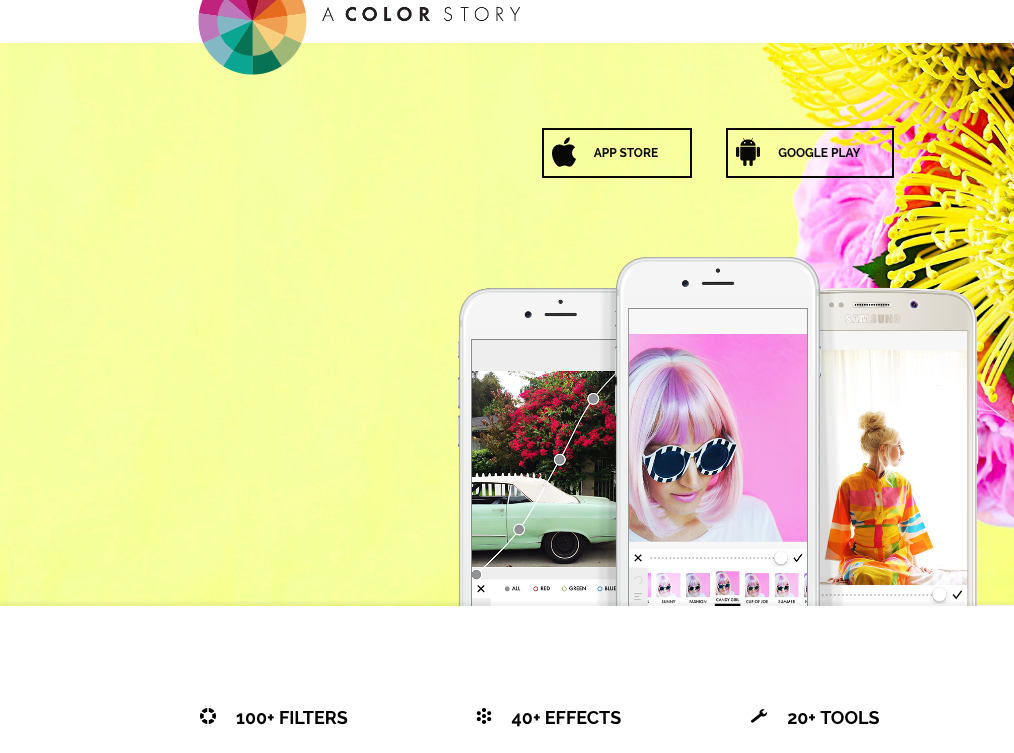 a color story free photo editor