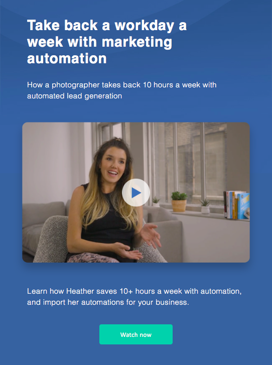 active campaign automated lead generation photographer marketing automation