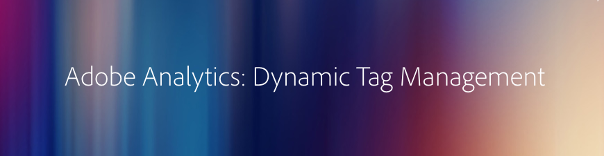 adobe analytics dynamic tag management logo