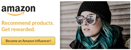 amazon influencer banner