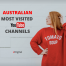 australian most visited youtube channels