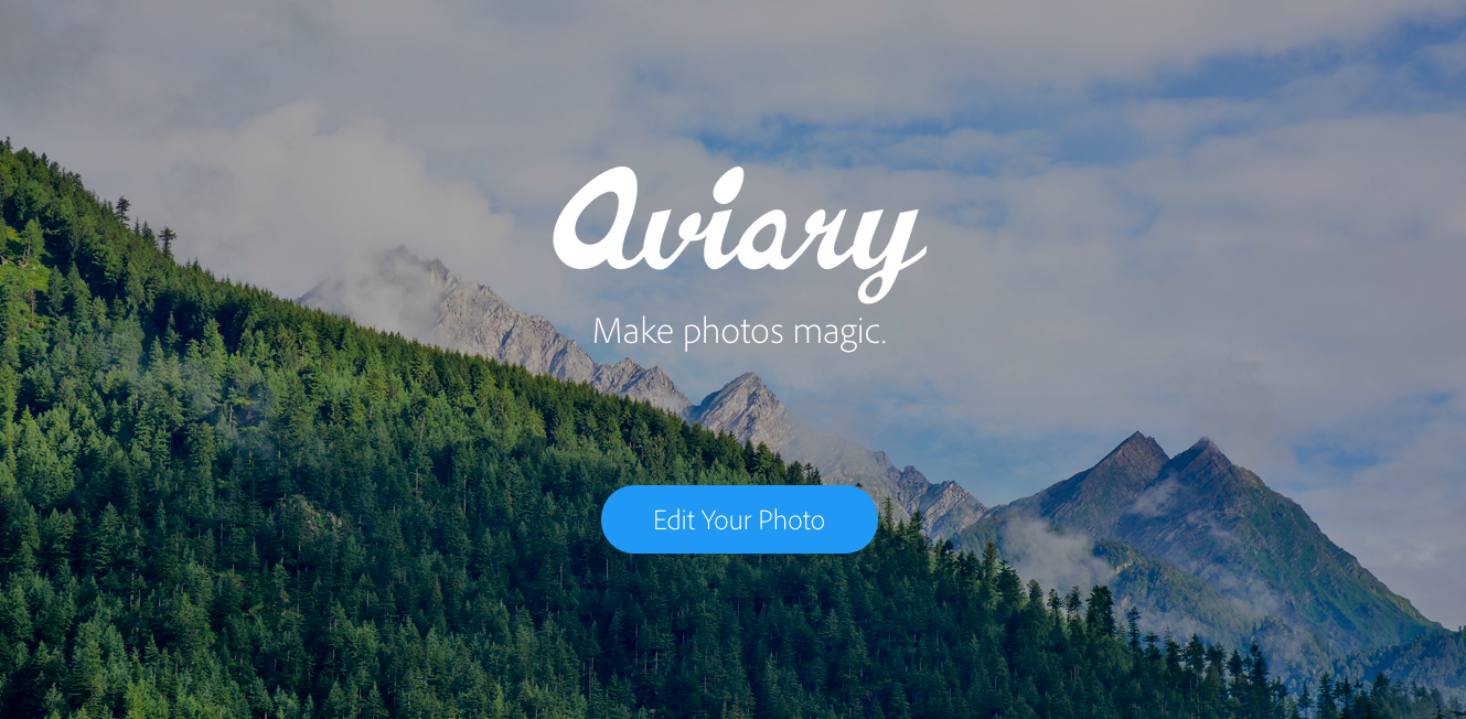 aviary free photo editing app