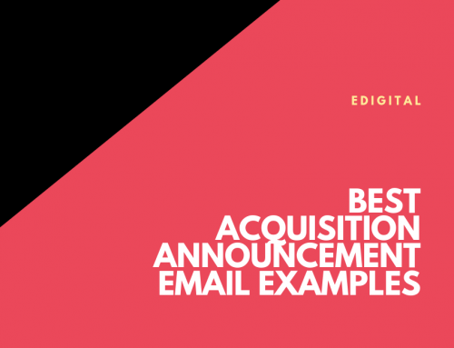 BEST ACQUISITION ANNOUNCEMENT EMAIL EXAMPLES