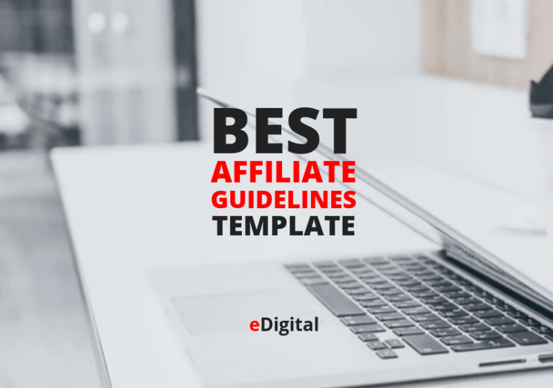 best affiliate guidelines template document