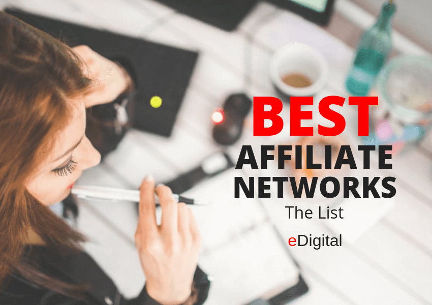 best affiliate networks platforms software list