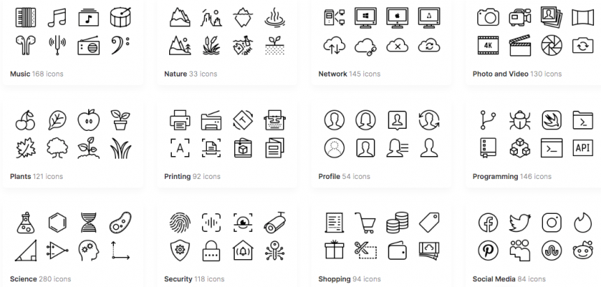 best iPhone icon designs icons8