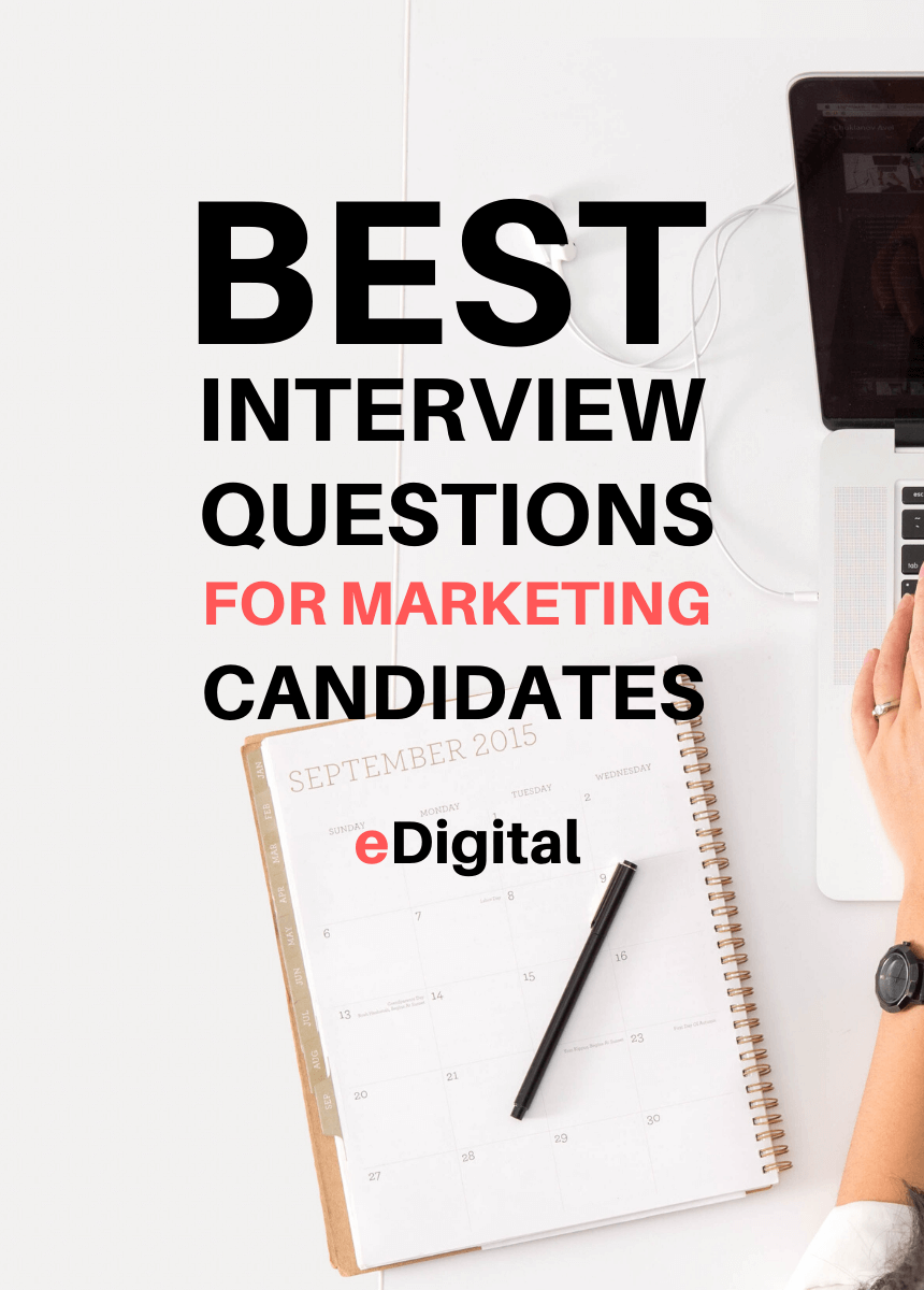 best job interview questions for marketing candidates