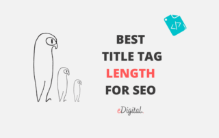 best optimal meta title tag length for seo