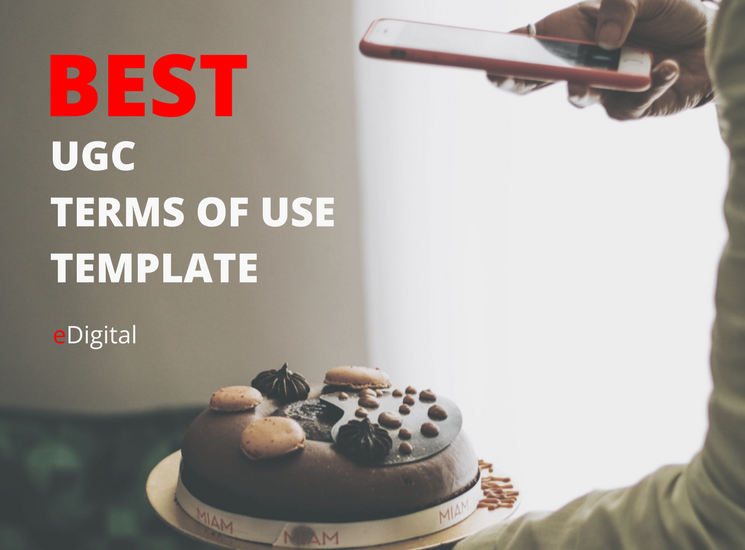 best user generated content terms of use document template