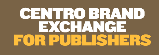 centro brand exchange for publishers supply side platform ssp banner