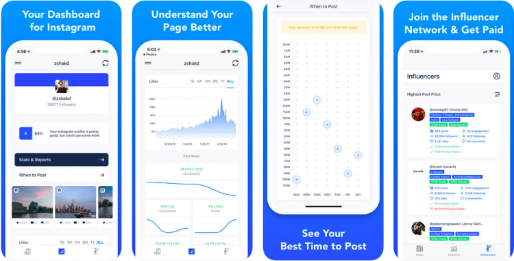 command instagram analytics influencer app tool