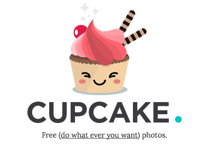 cupcake free photography website
