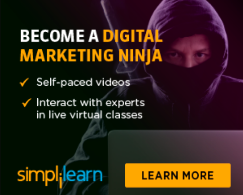 digital marketing certified associate training course simplilearn banner