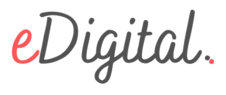 eDigital | Australia's Digital Marketing Destination | Strategy | Social Media  | SEO |  Tools | Guides | Conferences | Grants | Awards | Photography Logo
