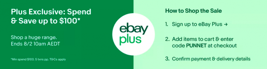 ebay plus promo code punnet offer january 2020