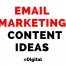 email marketing content ideas edigital sydney australia