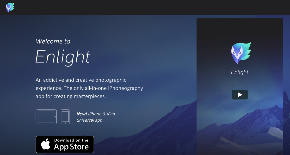 enlight best photo editor app