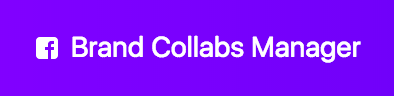 facebook brand collabs manager logo